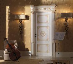 LUIGI XVI Luigi XVI Classic Wood Interior Doors Italian Luxury - Luxury interior doors