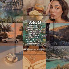Photography Filters, Vsco Photography, Tumblr Filters, Ig Feed Ideas, Fotografia Vsco, Vsco Hacks, Lightroom, Feeds Instagram, Best Vsco Filters