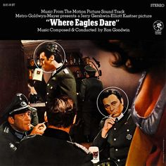 """""""Where Eagles Dare"""" (1969, MGM).  Music from the movie soundtrack."""