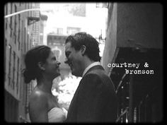 Courtney and Bronson's super 8 wedding film highlights: Duane Park and Locanda Verde - New York City, NY.  Made by Hello Super Studios (hellosuperstudios.com)