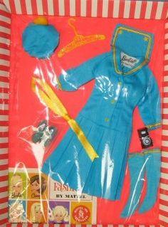 """Vintage Barbie """"See-Worthy"""" #1872 (1969)"""