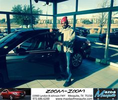 #HappyBirthday to Percy Bailey from Everyone at Mazda of Mesquite!