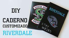DIY: Como Fazer um Caderno Riverdale #diyseriados How to Make Riverdale Spiral Notebook