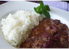 Chili com Carne- Verdadeiro na Bimby - Receitas Bimby