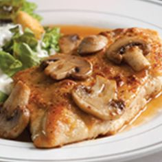 Chicken Marsala — an easy chicken recipe for a crowd