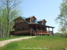 Doolittle Mountain Cabin - Front Exterior