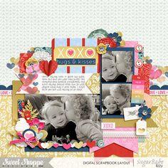 Heart Attack - Jady Day Studio Set 190 - Cindy Schneider Layered Cards: Love Vol.2 - Cindy Schneider KG Say Something