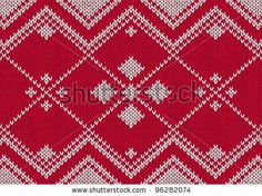 Stock Images similar to ID 215542021 - seamless knitted background