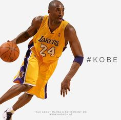 0dc70d079804  Lakers legend  Kobe Bryant announces retirement at season s end. More Kobe  discussion on