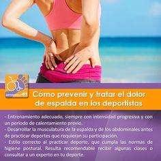 Cómo prevenir y tratar el #dolor de #espalda en los #deportistas   #Deporte #Ejercicio