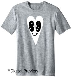 Future Eyes Heart Tee by chrisuphues on Etsy