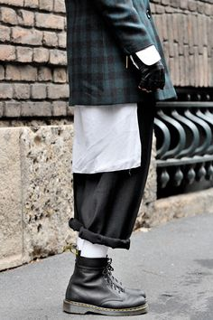 Grunge fashion   Westwood Forever: Homage to the Queen of tartan.   Raddest…