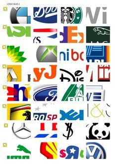 Free Printable Logo Games | Can you name the Logos? Quiz ...