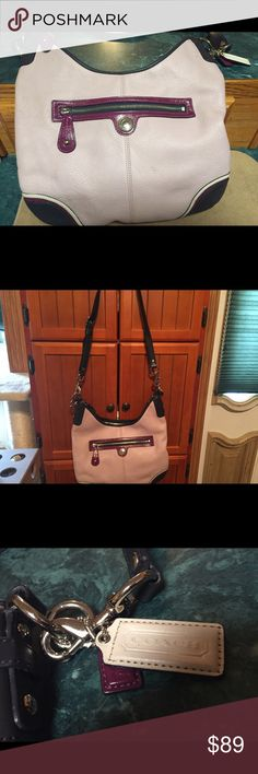 Laura Leather Convertible Hobo Coach Bag Authentic Extremely Nice Laura Leather Authentic Convertible Coach Hobo Bag New Without Tags ID#F15148 Won't Last Long Must Have!!! Coach Bags Hobos