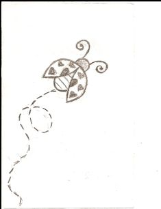 I really like this one as a tattoo ~ a teeny tiny one on one finger ~ in memory of Missy Chicka Bee ❤