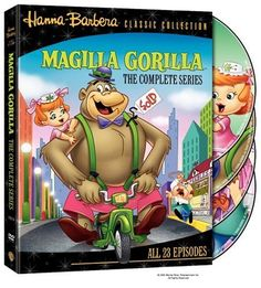The Magilla Gorilla Show (TV Series wow! Hanna Barbera, Saturday Morning Cartoons, Vintage Cartoon, Cartoon Tv, Family Night, Classic Cartoons, About Time Movie, Kids Shows, Movies And Tv Shows