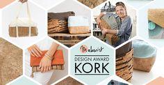 Wir lieben Korkstoff! Und wir freuen uns auf eure Designs im Rahmen des Design Award Kork!