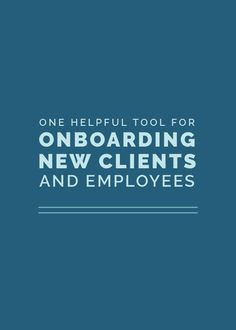 This year I hired a part-time assistant. The most helpful onboarding tool I've found is listed in today's post!