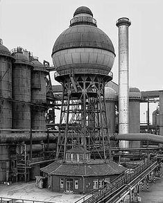 Bernd and Hilla Becher, Ilsede/Hannover, Germany, Unusual Buildings, Interesting Buildings, Abandoned Buildings, Abandoned Places, Factory Architecture, Architecture Design, Hilla Becher, 40k Terrain, Industrial Architecture