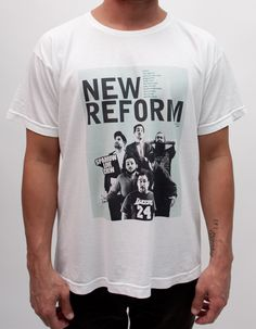 DESIGN (NEW REFORM)    printed by: alphabet clothing 2013