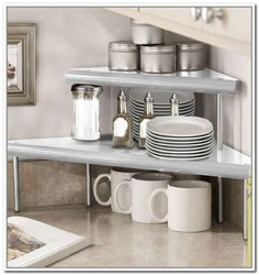 Kitchen Counter Organizer Shelf   Kitchen Organizer : Best Storage .