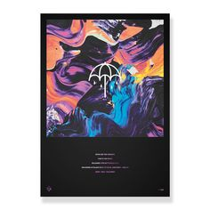 Bring Me The Horizon - Limited Edition That's The Spirit Foil Print - Posters - Horizon Supply Co. Poster Prints, Posters, Bring Me The Horizon, Bring It On, Spirit, Artwork, Collection, Work Of Art, Auguste Rodin Artwork