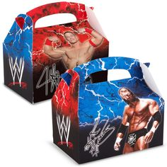WWE Wrestling Empty Favor Boxes, 75881