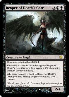 Angel of Despair White Spirit, Legendary Creature, Magic The Gathering Cards, Alternative Art, Cyberpunk 2077, Magic Cards, Believe In Magic, Wizards Of The Coast, Types Of Art