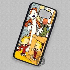 Duplicator Machine Calvin and Hobbes - Samsung Galaxy S7 S6 S5 Note 7 Cases & Covers