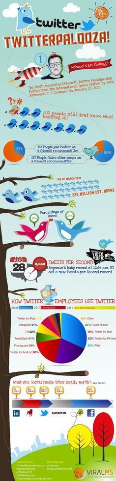 Twitter Facts Infographic http://itz-my.com