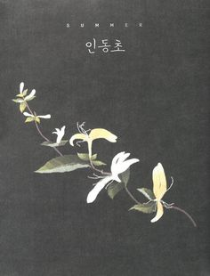 Korea Floral Embroidery Korean craft book by MeMeCraftwork ㅡ 인동초
