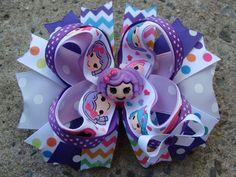 Items similar to Large Lalaloopsy Boutique Hair Bow Hair Clip to match a dress pink lalaloopsy blue lalaloopsy purple lalaloopsy on Etsy Diy Hair Bows, Bow Hair Clips, Boutique Hair Bows, Lalaloopsy, Girls Bows, Diy Hairstyles, Pink Dress, Little Girls, Baby Shoes