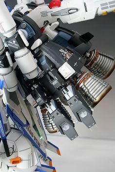LED G's G-System 1/35 Ex-S Gundam: PhotoReview No.33 Hi Resolution Images   GUNJAP