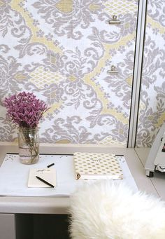 Decorating Office Cubicle diy desk glam! give your cubicle, office, or work space a makeover