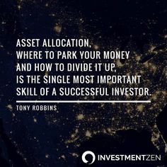 What do you know about asset allocation?