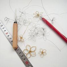 ワイヤーフラワーの作り方 | 簡単DIY!numakoのブログ