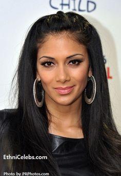 Nicole Prescovia Elikolani Valiente-Scherzinger, singer- (Filipino, Hawaiian and Russian)