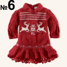 8a36409c2 Reindeer Cardigan - Girls 2-6X Sweaters - RalphLauren.com ...