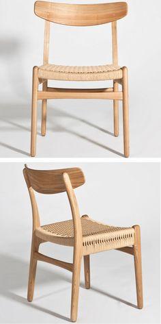 CH24 Hans Wegner Style Chair: