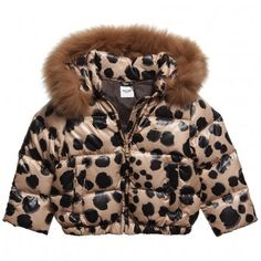Moschino Baby Leopard Print Jacket at Childrensalon.com