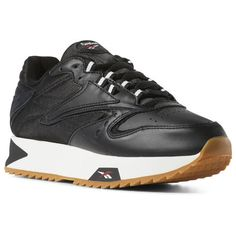 99ec0ea9face Reebok Shoes Women s Classic Leather ATI 90s in Black Chalk Gum Size 6.5 -  Retro Running Shoes