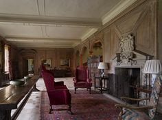 Discover the baby house, Oak hall and drawing room on your visit to this National Trust property English Interior, Antique Interior, Castles In England, Royal House, North Yorkshire, Drawing Room, Sweet Home, Living Room, National Trust