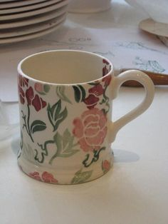 Emma Bridgewater Waitrose 0.5 Pint Mug (pink version)