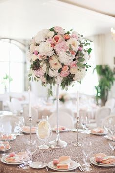 wedding centerpiece @weddingchicks