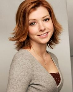 Alyson Hannigan as Willow Rosenberg on Buffy - LOVE HER HAIR ^_^ - maybe I should do something like this after the wedding