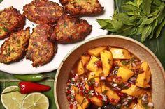Spicy Corn Pakoras With Mango-Tamarind Chutney by David Tanis