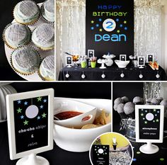 """Loving the """"Cha Cha Chips  Salsa"""" and more Creative Disco Dance Party Ideas for a boys birthday by Emily of Smarty Parties! #KidsParty http://hwtm.me/17ZgjiO"""