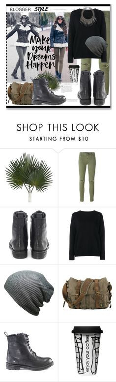 """""""Outfit of the day >> Hera Combat Boots"""" by artemisia-art ❤ liked on Polyvore featuring J Brand, Hera, Frame Denim, Dot & Bo, women's clothing, women, female, woman, misses and juniors"""