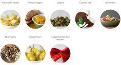 Pickled Vegetables At Zeea Olives