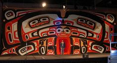 Screen designed and created by Robert Davis Hoffmann, Tlingit. Sealaska Celebration 2004. #TlingitArt tlingitart.com